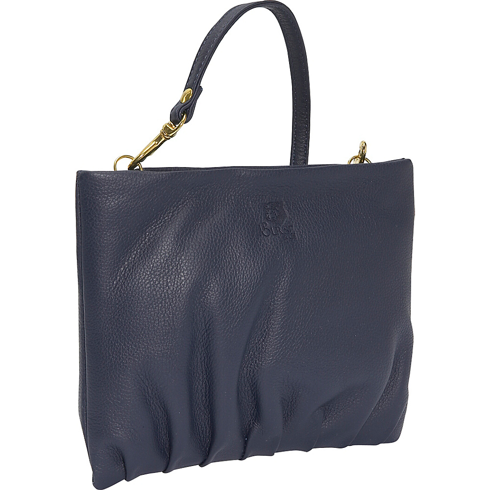 J. P. Ourse & Cie. Windemere Versatile Clutch - Indigo - Handbags, Leather Handbags
