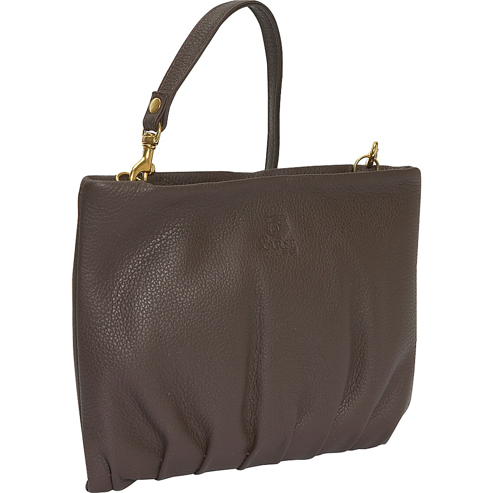 J. P. Ourse & Cie. Windemere Versatile Clutch - Java - Handbags, Leather Handbags