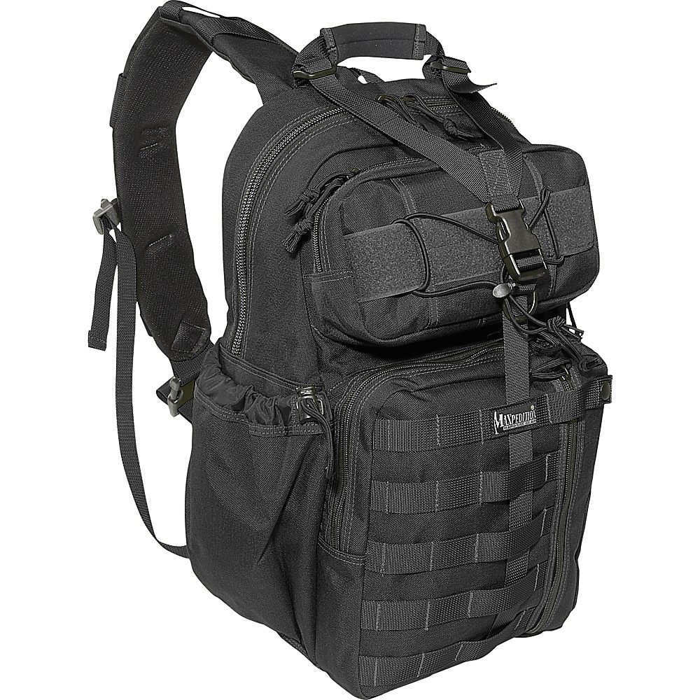 Maxpedition KODIAK GEARSLINGER - Black - Outdoor, Day Hiking Backpacks