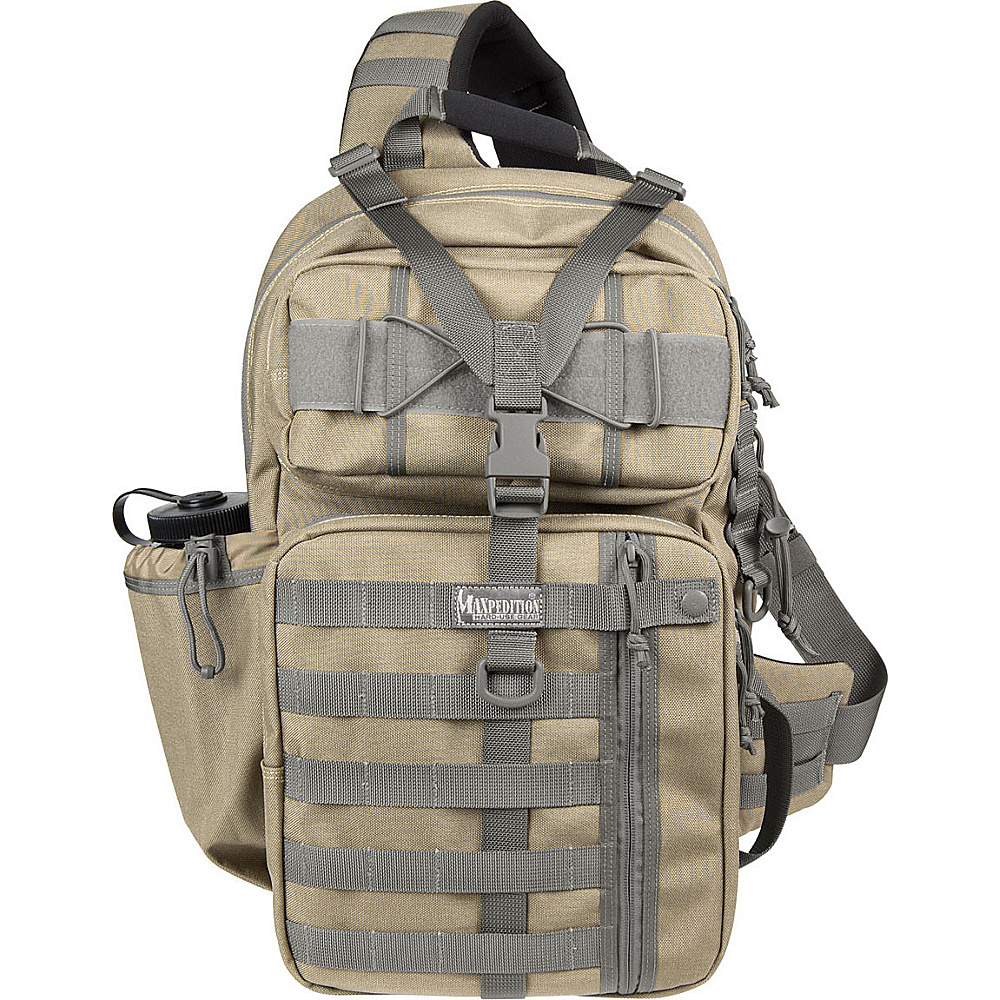 Maxpedition KODIAK GEARSLINGER - Khaki Foliage - Outdoor, Day Hiking Backpacks