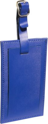 Clava Rectangle Luggage Tag Cl Blue - Clava Luggage Accessories