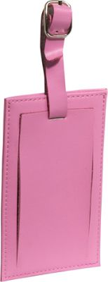 Clava Rectangle Luggage Tag Cl Pink - Clava Luggage Accessories