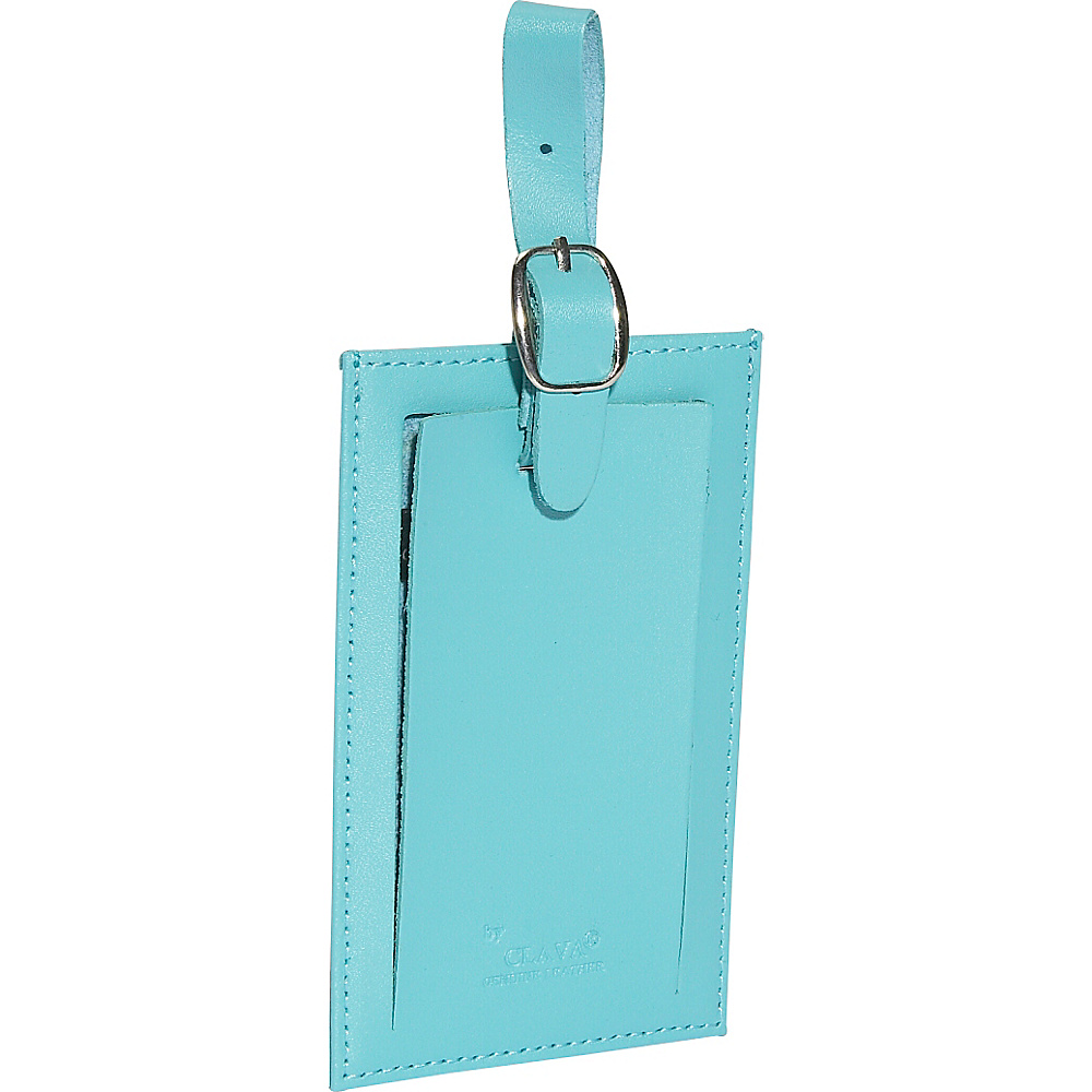 Clava Rectangle Luggage Tag - CI Aqua - Travel Accessories, Luggage Accessories