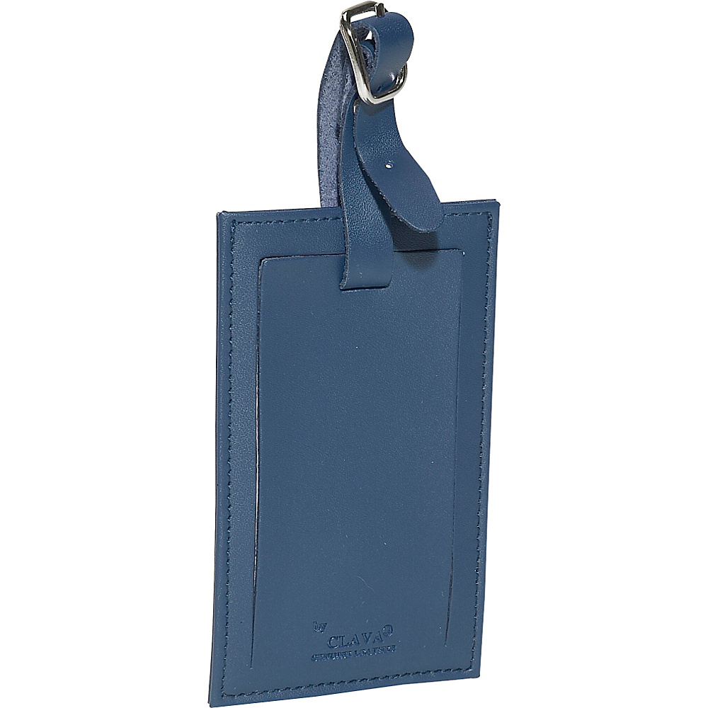 Clava Rectangle Luggage Tag - CI Navy - Travel Accessories, Luggage Accessories