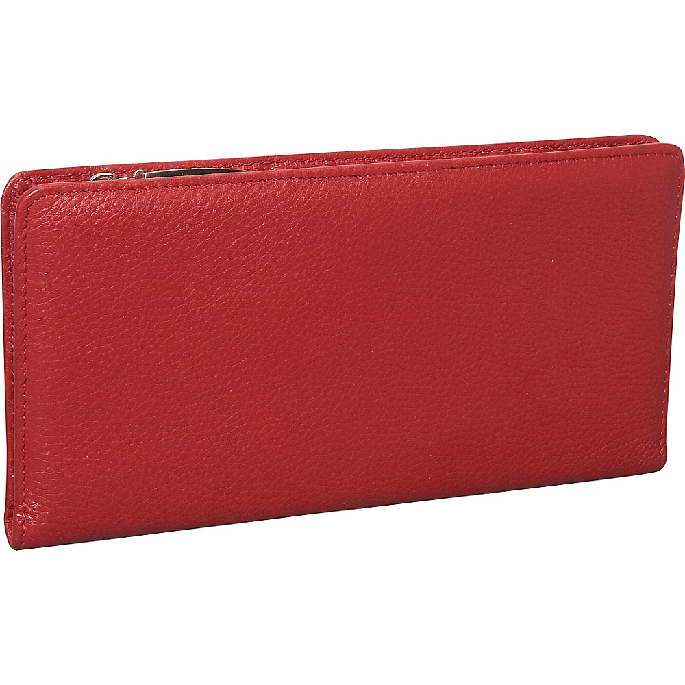 Dopp Roma Double Side Wallet Dark Red