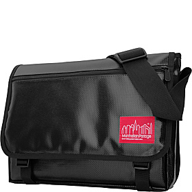 Europa Messenger Bag Vinyl (MED) Black