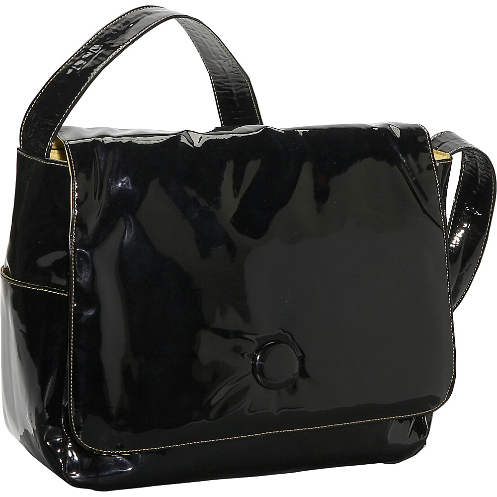Soapbox Bags Moppet Diaper Bag Patent Black Patent