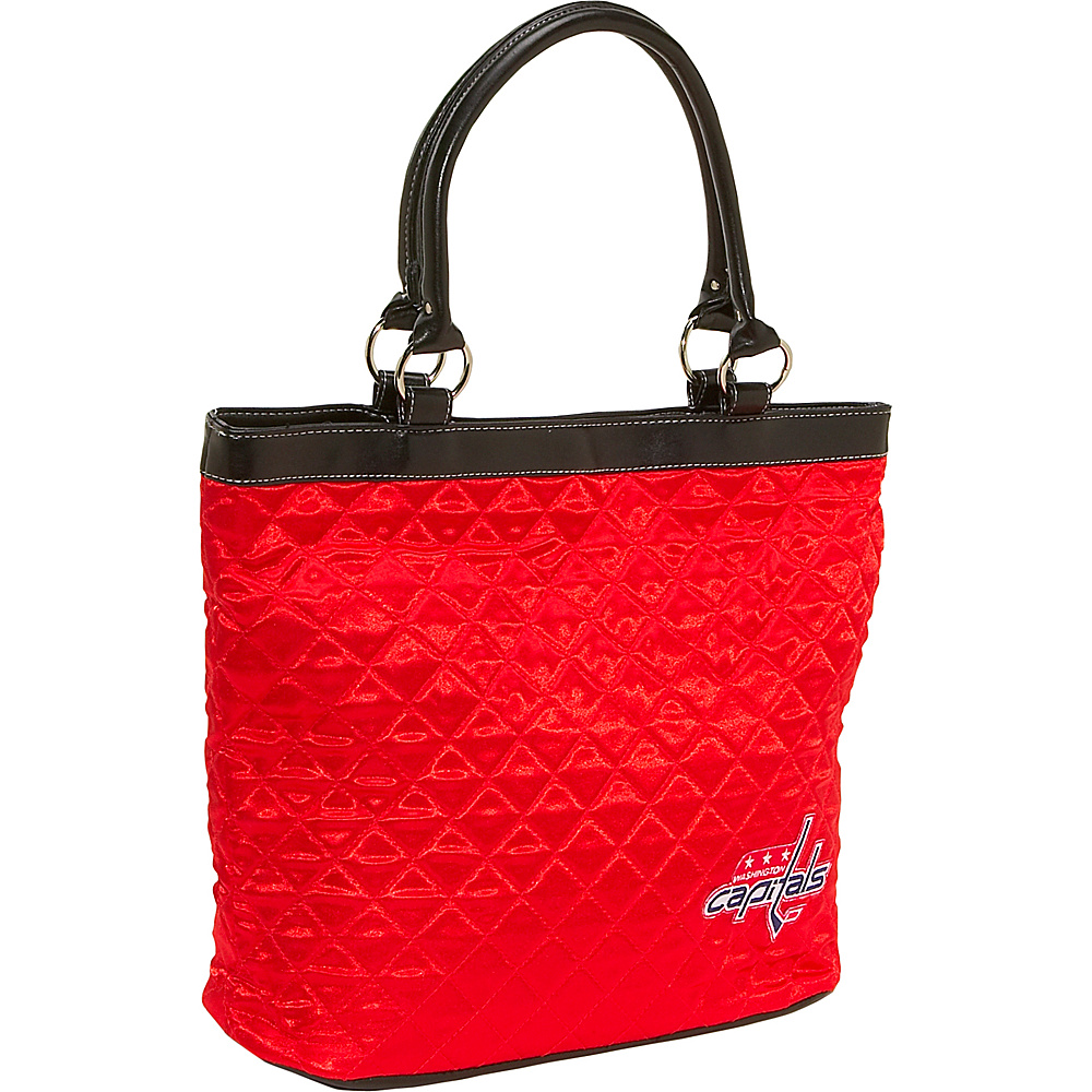 Littlearth Quilted Tote - Washington Capitals Washington Capitals - Littlearth Fabric Handbags