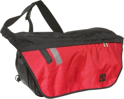Ice Red Ice Red Drift Messenger Bag - Large - Black/Red