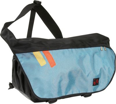 Ice Red Ice Red Drift Messenger Bag - Large - Black/Blue