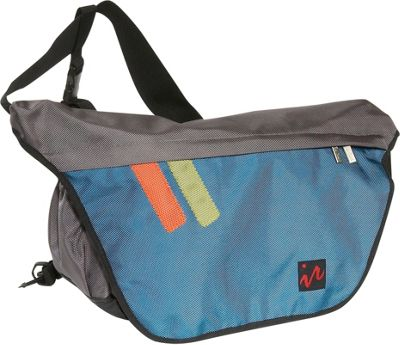 Ice Red Ice Red Drift Messenger Bag - Large - Grey/Blue