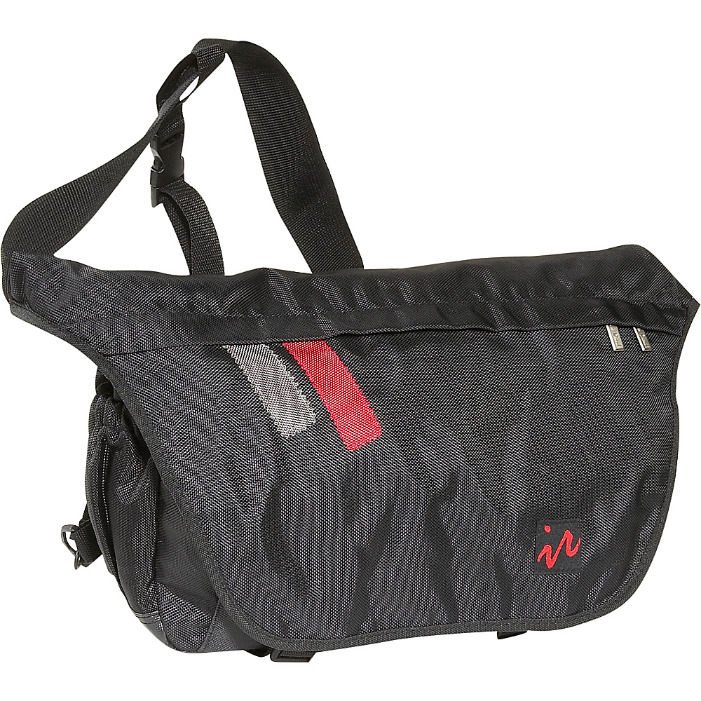 Ice Red Drift Messenger Bag - Large - Black/Black - Work Bags & Briefcases, Messenger Bags