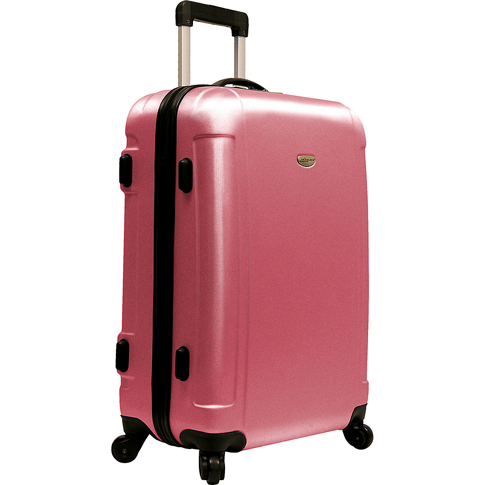 Travelers Choice Freedom 25 in. Hardshell Spinner Upright Dusty Rose - Travelers Choice Hardside Checked - Luggage, Hardside Checked