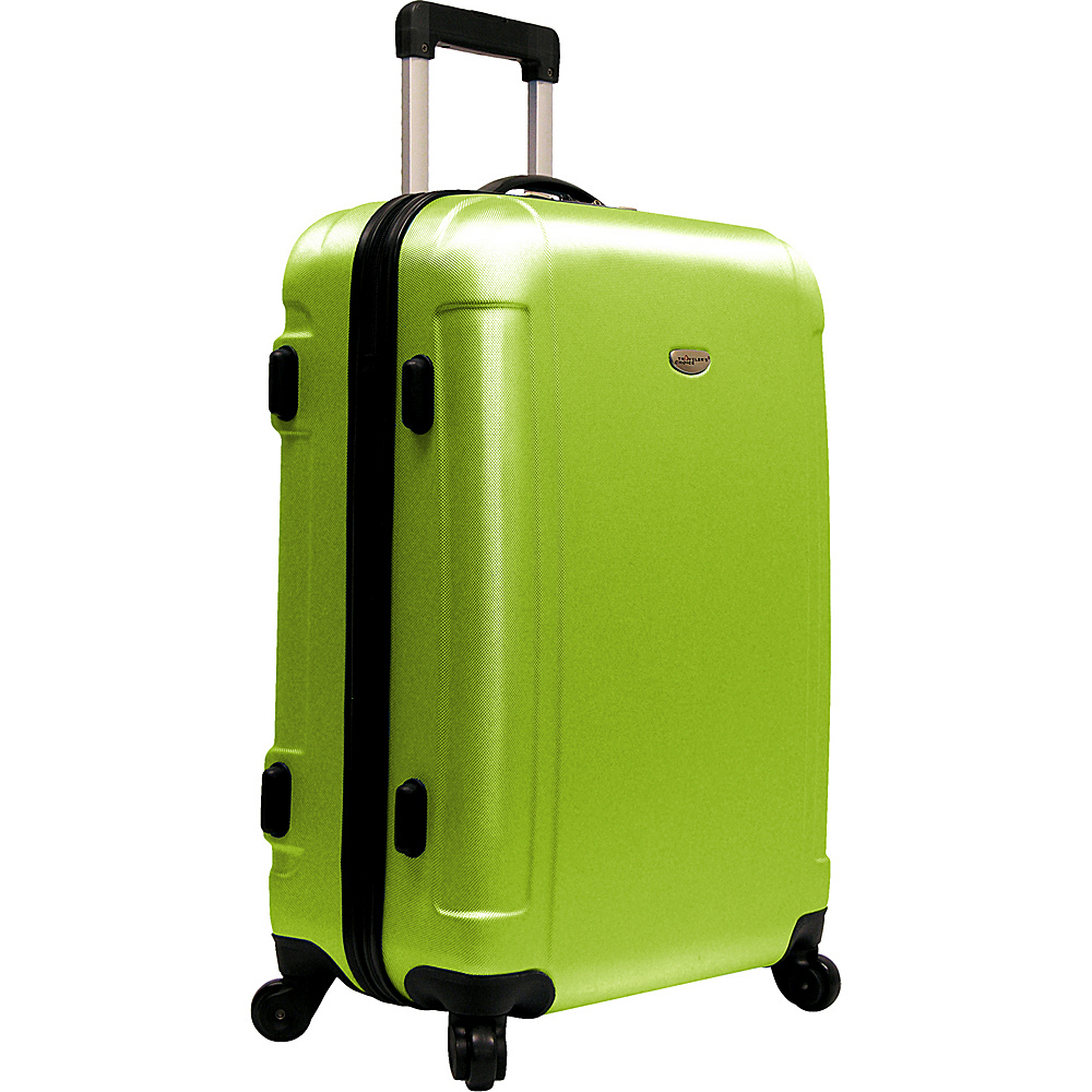 Travelers Choice Freedom 25 in. Hardshell Spinner Upright Apple Green - Travelers Choice Hardside Checked - Luggage, Hardside Checked