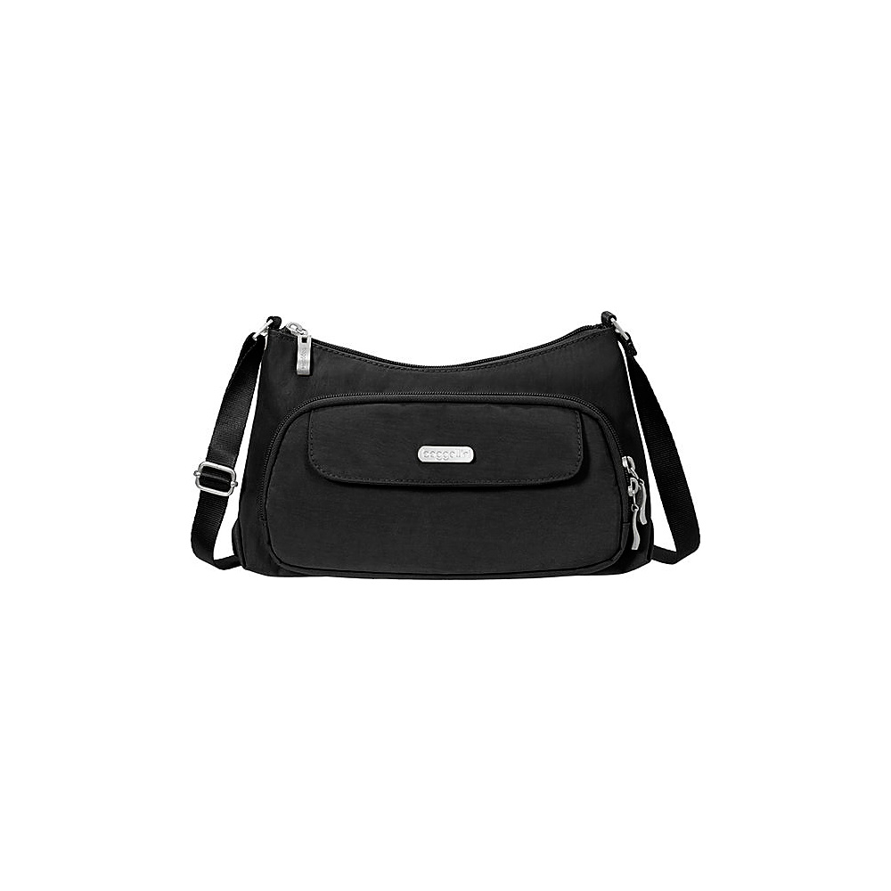 baggallini Everyday Crossbody Black/Sand - baggallini Fabric Handbags - Handbags, Fabric Handbags