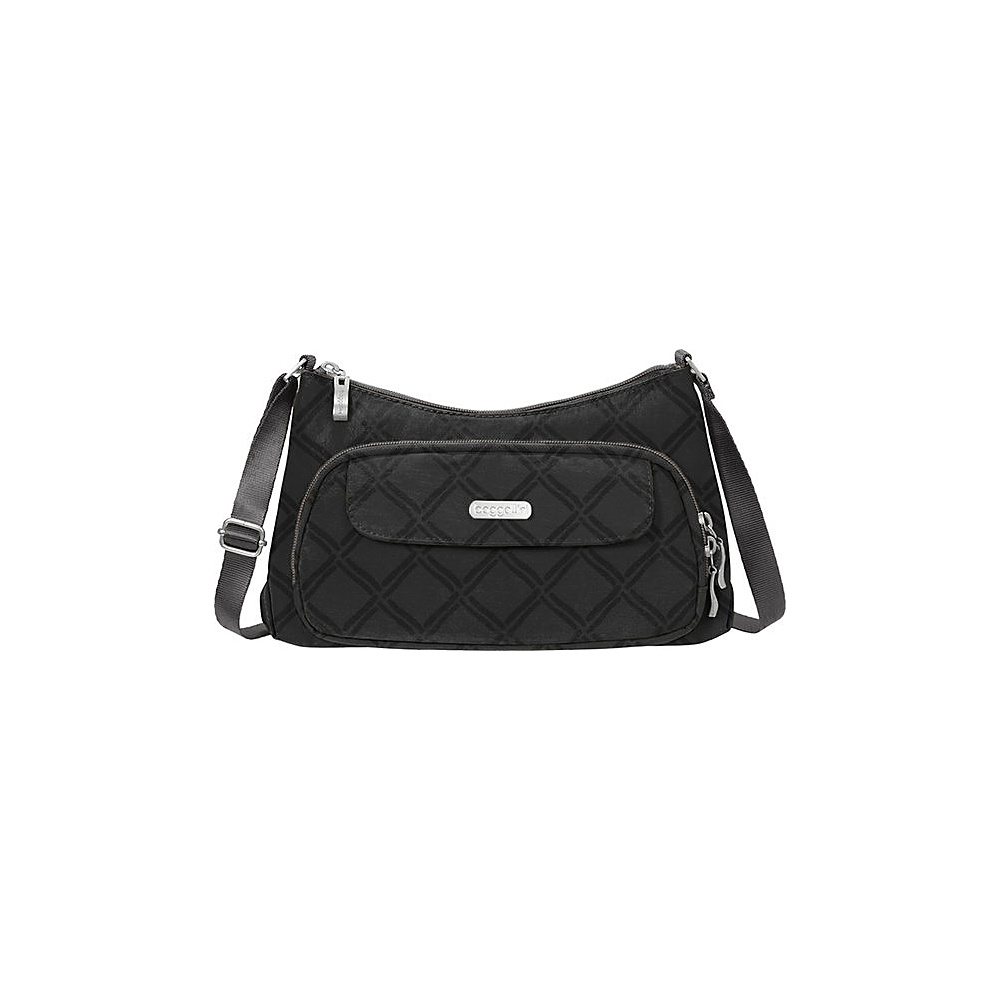 baggallini Everyday Crossbody Charcoal Link - baggallini Fabric Handbags - Handbags, Fabric Handbags