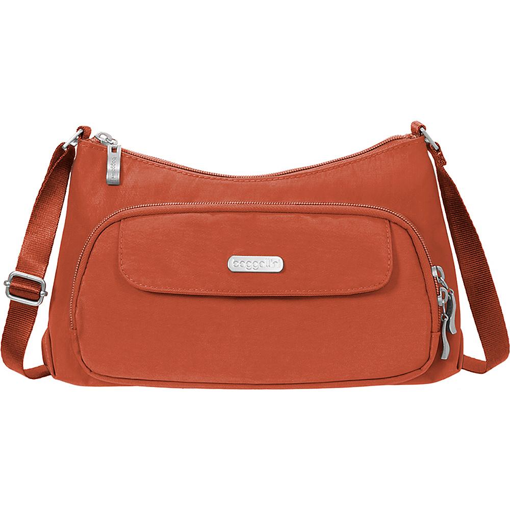 baggallini Everyday Crossbody Adobe - baggallini Fabric Handbags - Handbags, Fabric Handbags