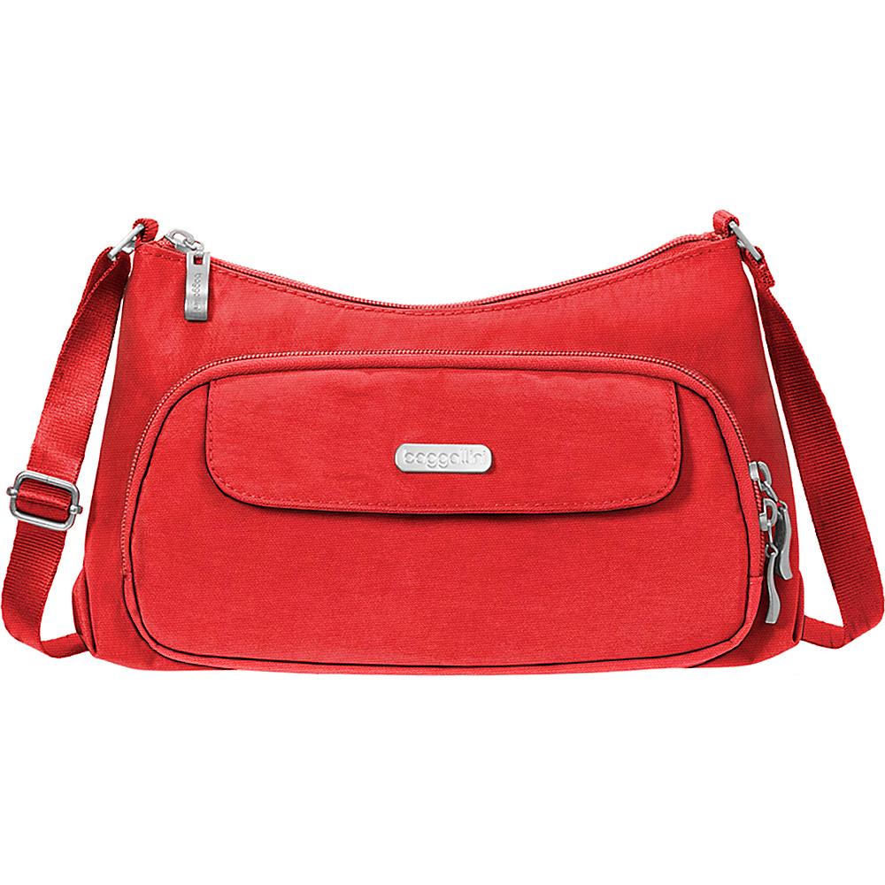 baggallini Everyday Crossbody Hibiscus - baggallini Fabric Handbags - Handbags, Fabric Handbags