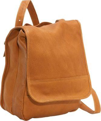Le Donne Leather Convertible Back Pack Shoulder Bag ...