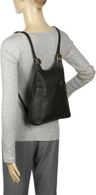Le Donne Leather Women's Sling BackPack Purse 4 Colors ...