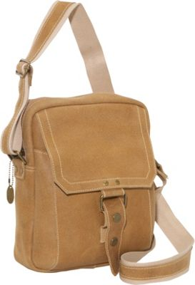 David King & Co. David King & Co. Distressed Leather Day Bag Distressed Tan - David King & Co. Other Men's Bags