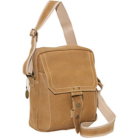 Distressed Leather Day Bag Distressed Tan