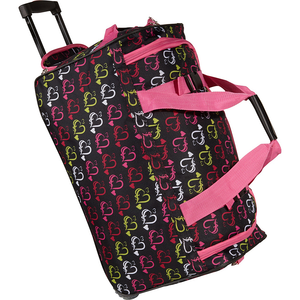Rockland Luggage 22 Rolling Duffle Bag - Multi Color - Luggage, Softside Carry-On
