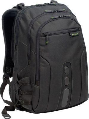 Targus EcoSmart - Spruce 15.6 inch Notebook Backpack Black - Targus Business & Laptop Backpacks