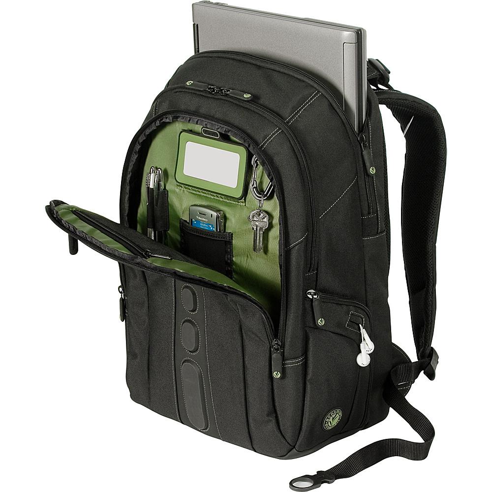 "Targus EcoSmart - Spruce 15.6"" Notebook Backpack Black - Targus Business & Laptop Backpacks"