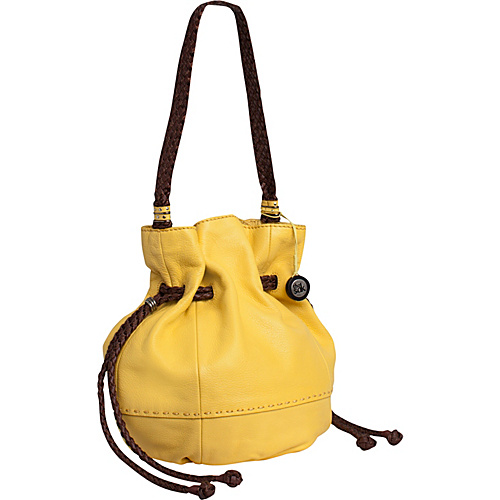 The Sak Indio Leather Drawstring Dandelion - The Sak Leather Handbags