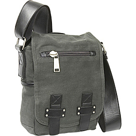 In Bag Taste - Canvas Day Bag Grey
