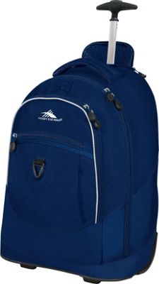 High Sierra Chaser Rolling Backpack True Navy - High Sierra Rolling Backpacks