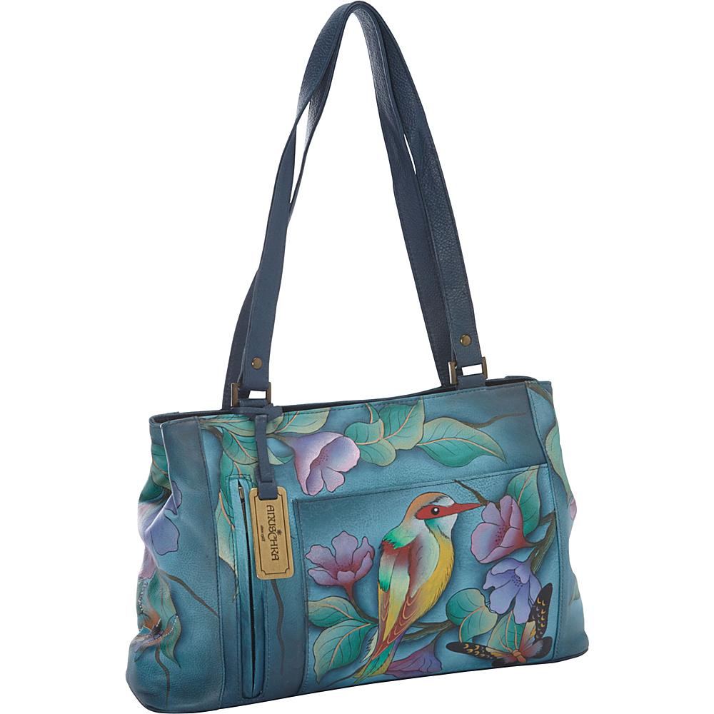 Anuschka Large Shopper Hawaiian Twilight - Anuschka Leather Handbags