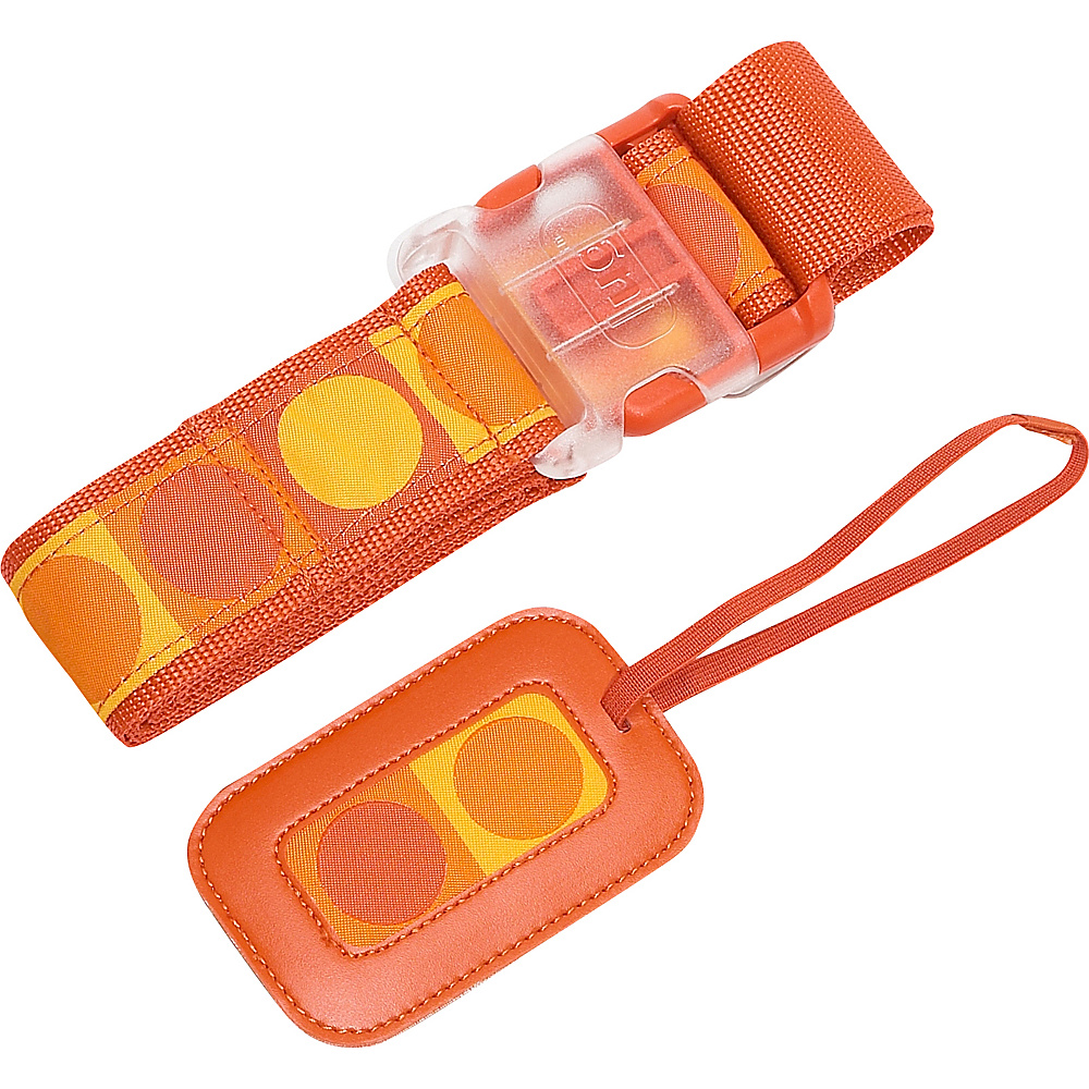 Lug Life Luggage Belt/Tag Dot - Sunset - Travel Accessories, Luggage Accessories