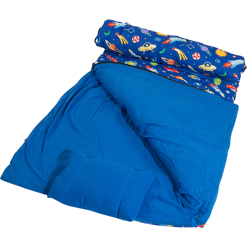 Wildkin Olive Kids Out of This World Sleeping Bag - Travel Accessories, Travel Pillows & Blankets