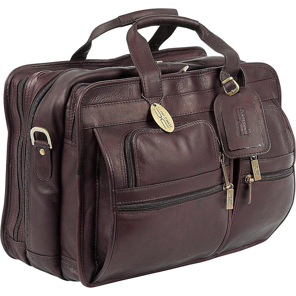 ClaireChase Executive Briefcase X wide Cafe
