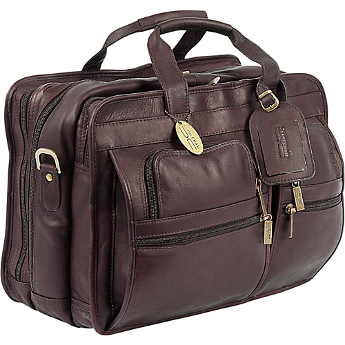 ClaireChase Executive Briefcase X-wide - Cafe
