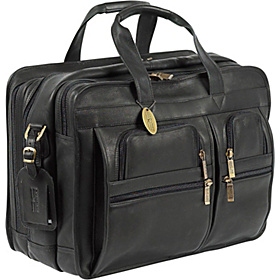 Executive Briefcase X-wide Black
