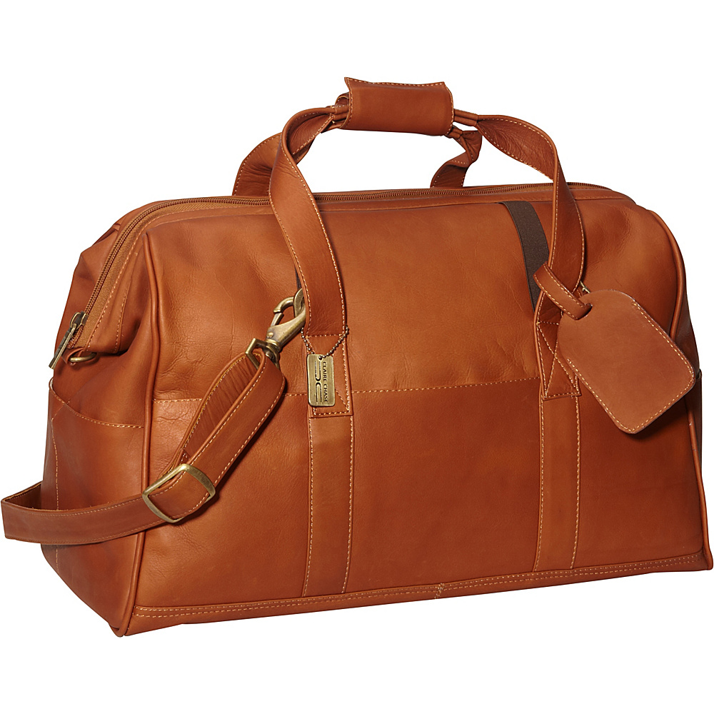 ClaireChase Vintage 20 Duffel Saddle - ClaireChase Travel Duffels - Duffels, Travel Duffels