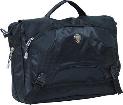 CalPak Ransom Laptop Messenger Black - CalPak Messenger Bags