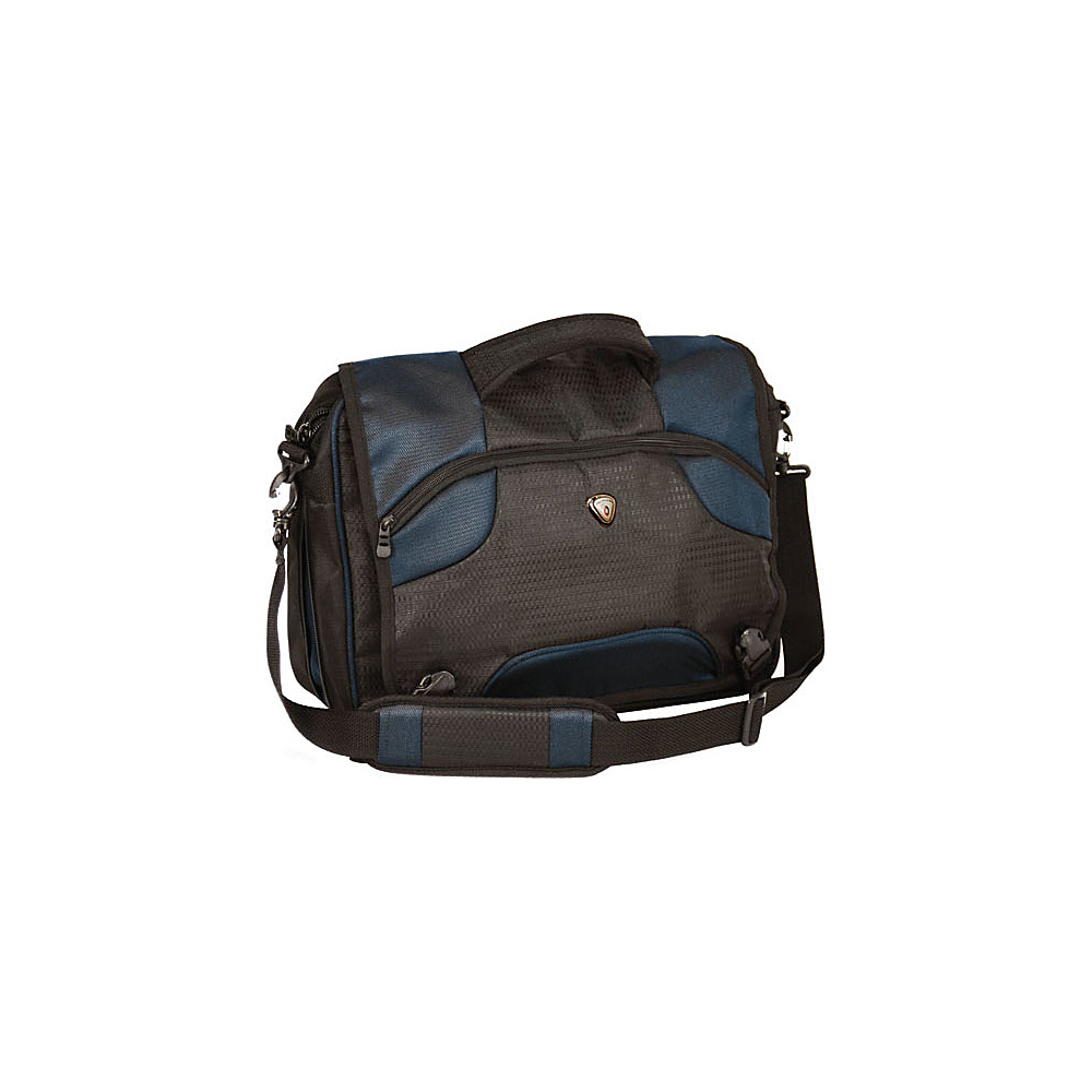 CalPak Ransom Laptop Messenger Navy Blue