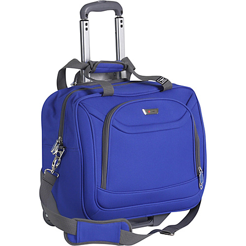Delsey Helium Fusion Lite 2.0 Trolley Tote - Sky Blue