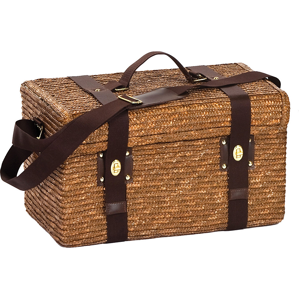 Picnic Plus Woodstock 2 Person Picnic Basket Fern