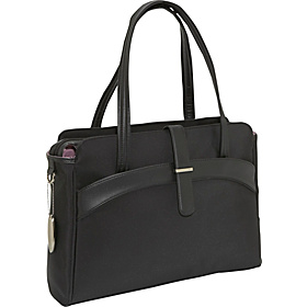 Camelot Laptop Tote Black