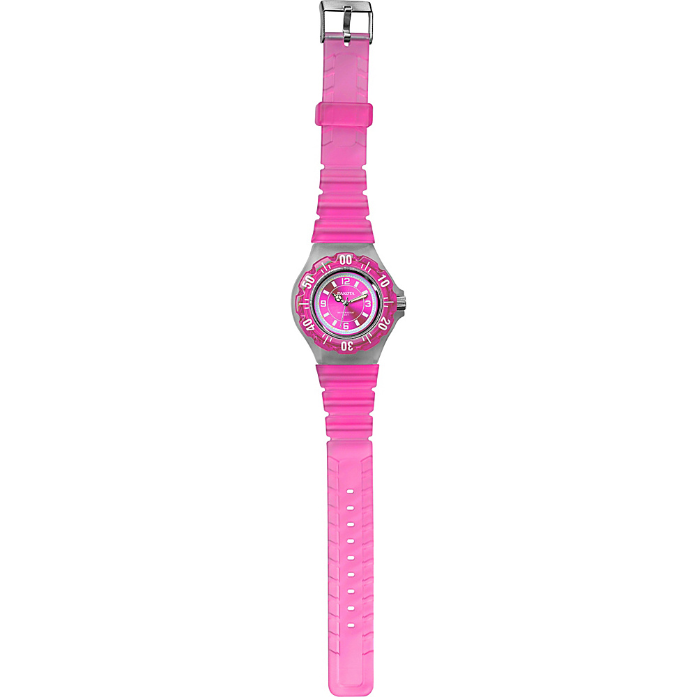 Dakota Watch Company Jelly Watch Pink