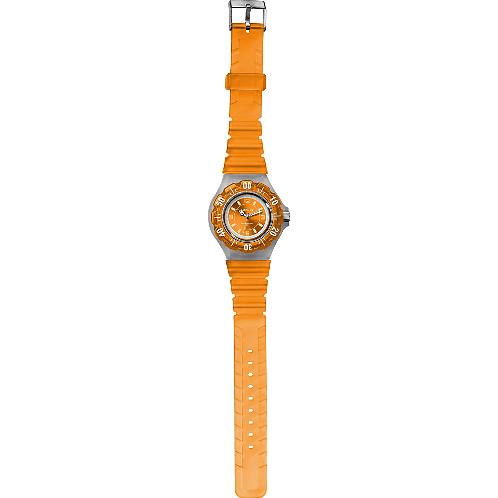 Dakota Watch Company Jelly Watch - Orange