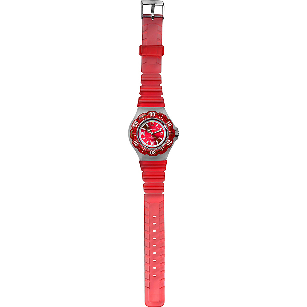 Dakota Watch Company Jelly Watch Red