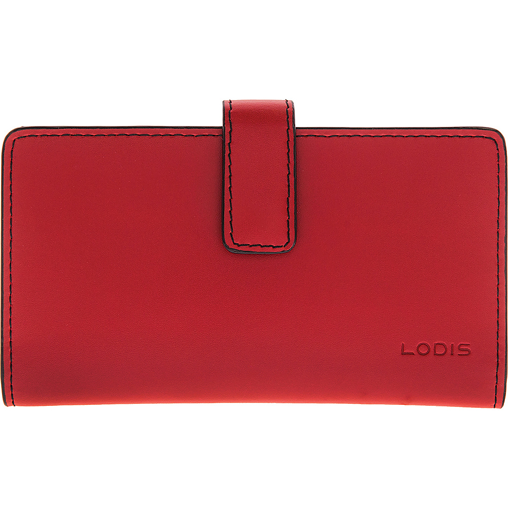 Lodis Audrey RFID Card Case with Coin Purse New Red - Lodis Womens Wallets - Women's SLG, Women's Wallets