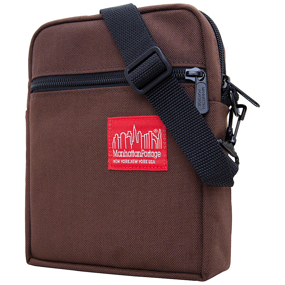 Manhattan Portage City Lights - Small Dark Brown - Manhattan Portage Other Mens Bags - Work Bags & Briefcases, Other Men's Bags