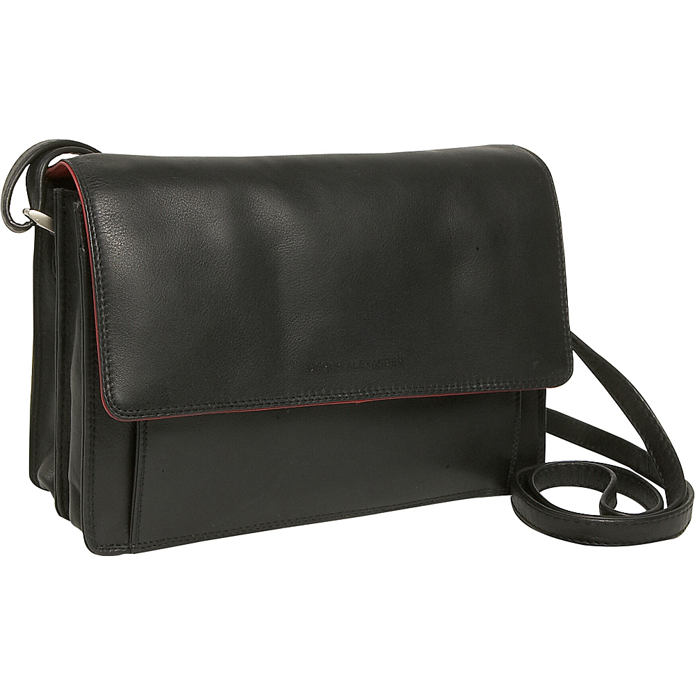 Derek Alexander Alternatives East/West Flap Organizer - Handbags, Leather Handbags